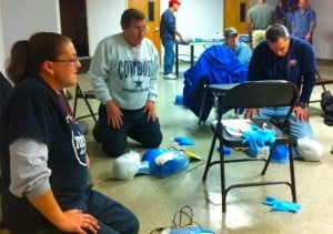 ARF CPR/AED/First Aid Training