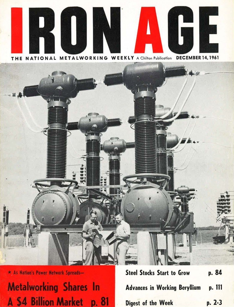 Iron Age Cover December 1961