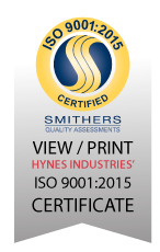 Hynes ISO 9001:2015 Certificate Footer Badge.png