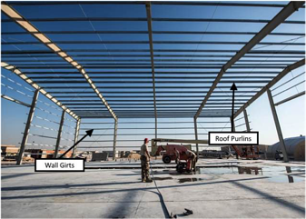 Wall-girts-roof-purlins